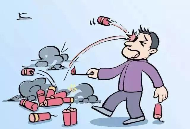 手绘工厂安全漫画