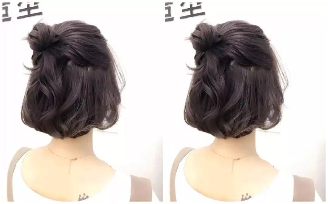 2018最新流行的女生短发发型趋势!立体短发带点卷,就是时尚又优雅哦!