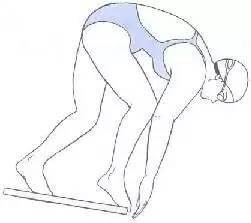 [游泳技巧]如何做到最专业的跳台出发,这份教程帮助了无数游泳者