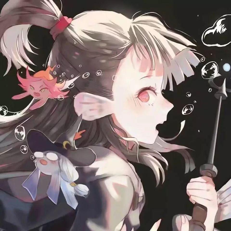 动漫头像女生���,z$#_【欣赏】动漫女生头像