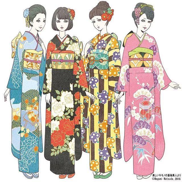 日本一Ins博主po了一百多张和服少女的照片,惊艳了无数网友!