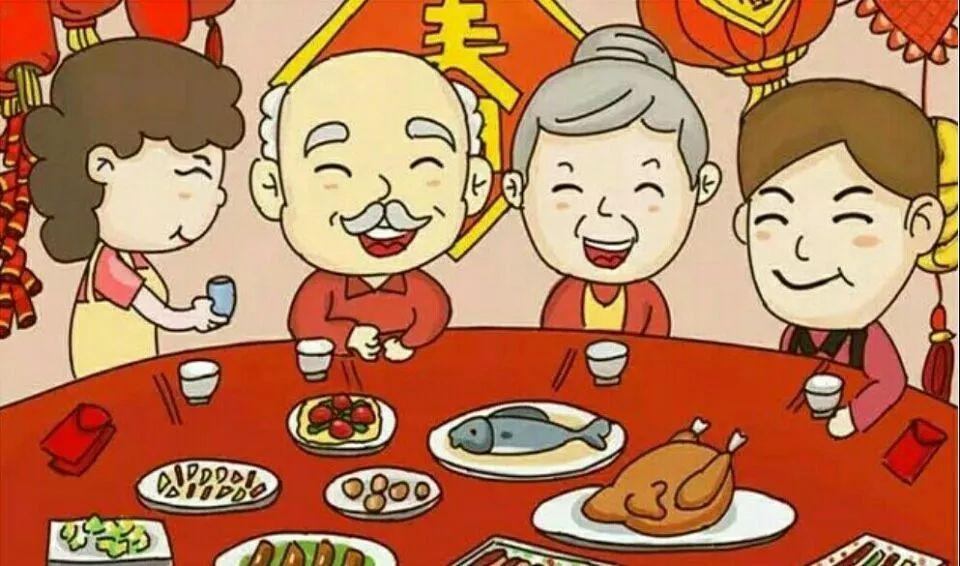 美食新年|春节美食v美食美味汇英文图片