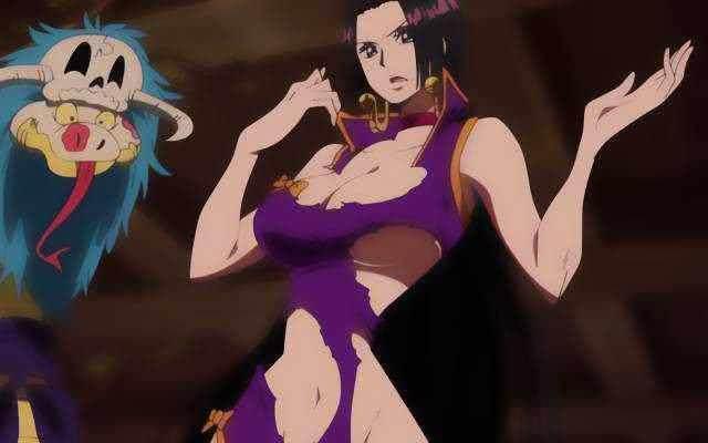 海贼王 女帝 娜美 罗宾靠边站,她才是海贼王中的颜值第一美女