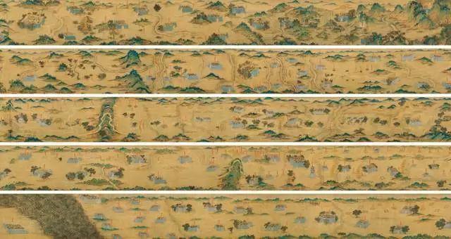 3亿元天价,旷世奇珍《丝路山水地图》入藏故宫 国宝
