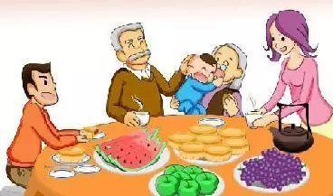 除夕夜,团圆饭,阖家欢乐幸福年—说说过年的那些事儿图片