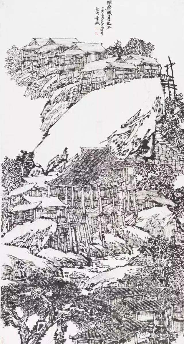 国画 简笔画 手绘 线稿 640_1197 竖版 竖屏