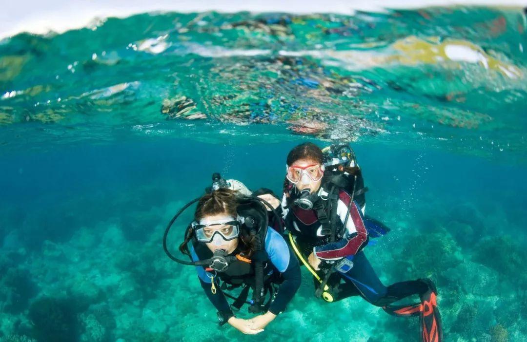 骚穴好多水水_潜水胜地,丰富的珊瑚和水下岩洞