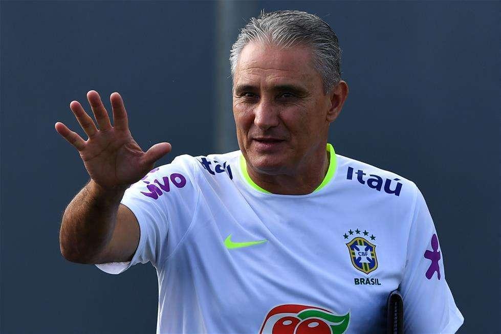 巴西主帅世界杯阵容已确定1