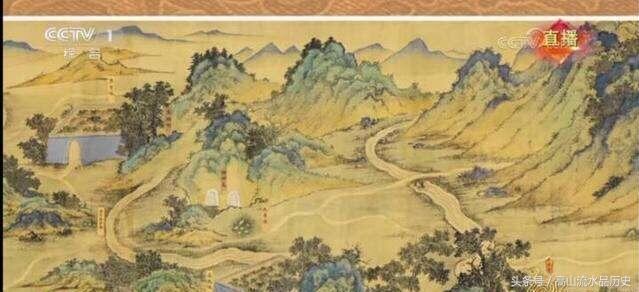 山水帛_狗年春晚展示的国宝《丝路山水地图》大揭秘
