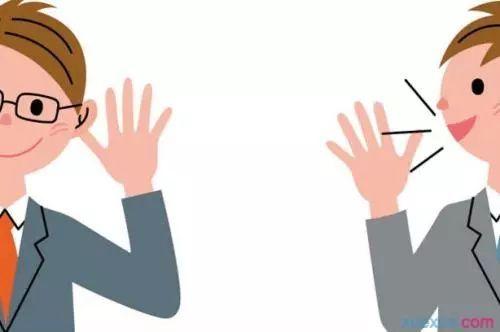 4.手轻擦耳朵:不耐烦,不想听图片