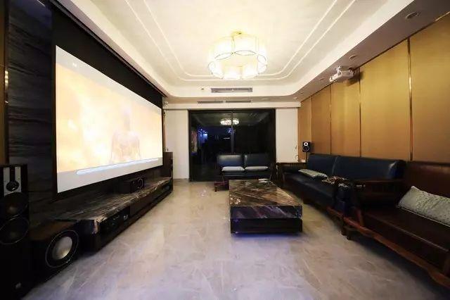 客厅环绕音响效果图