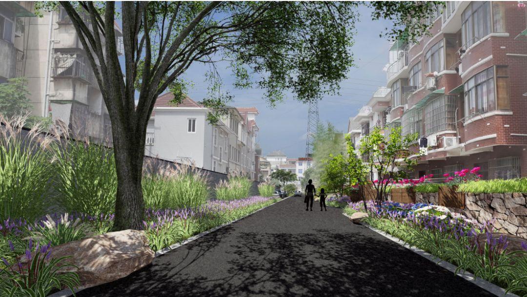 """2专项设计3一环五点通过村内主要景观流线""""一环""""贯穿五个交通节点家纺设计网"""