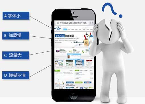 移动网站如何与用户的搜索问题的一贯必须解决