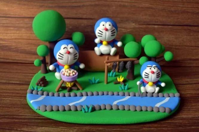 宝妈宝爸也可以和宝宝一起做好看好玩的黏土作品哦~ 太原市第一家陶图片