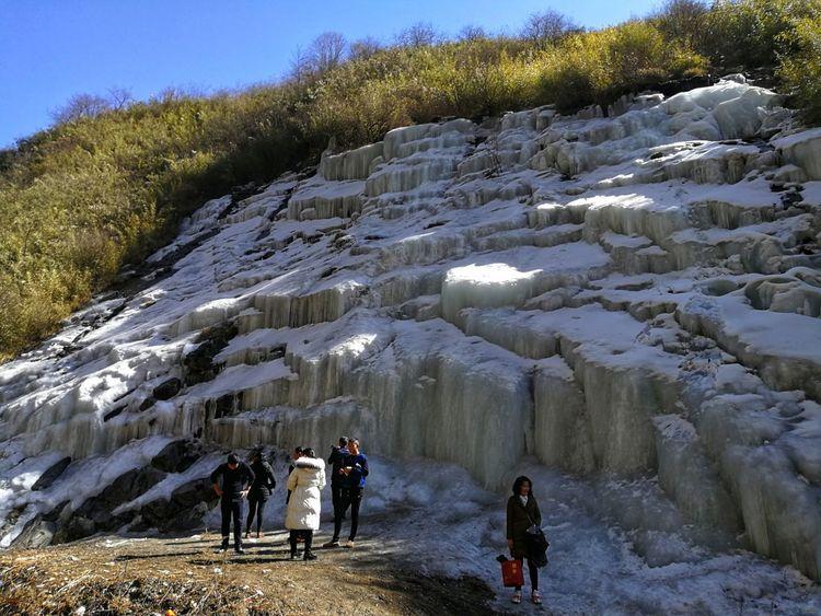 时光惊雪,冬日恋歌——汶川大寺冰瀑行