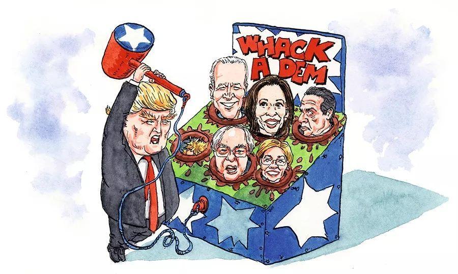 2020年,特朗普的挑战者