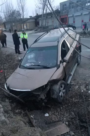 大过年的,长清连发多起车祸!