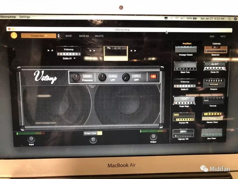 NAMM 2018 展会:Hotone VSTOMP AMP 吉他建模效果插件第一时间上