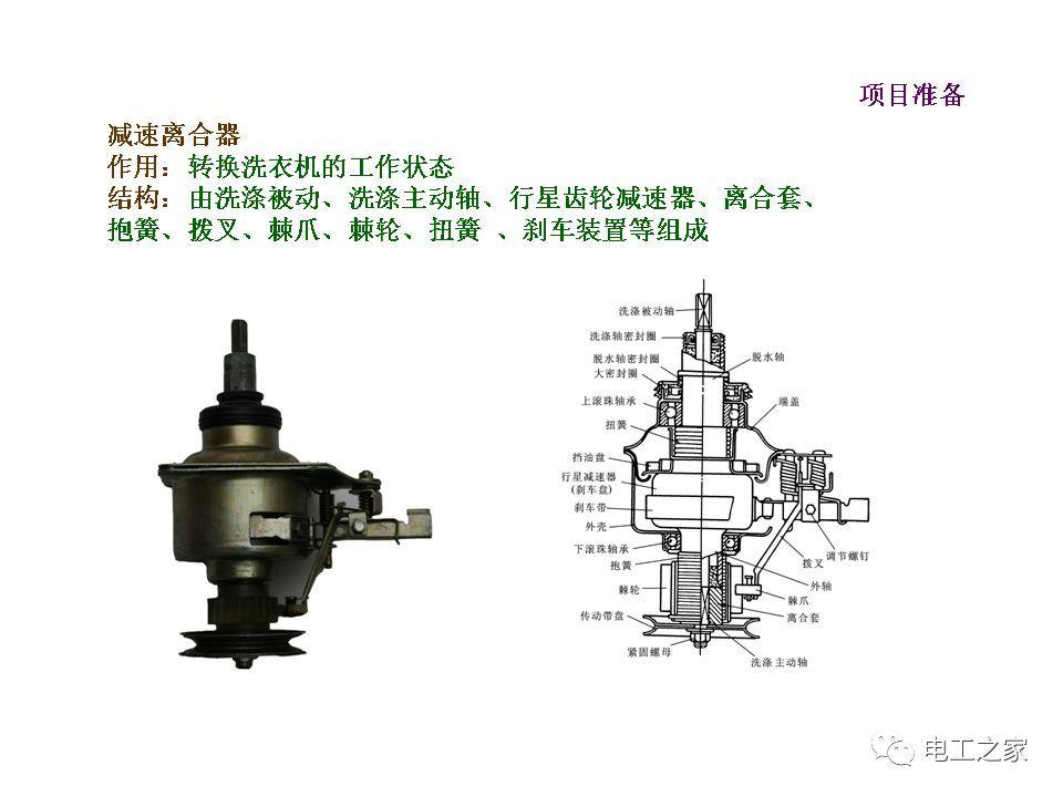 波轮式全自动洗衣机的原理与维修