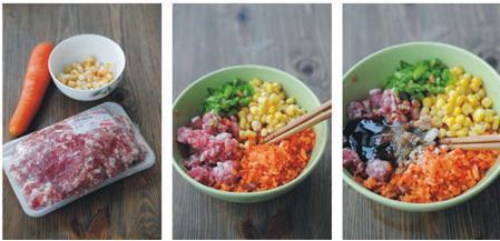 玉米包子猪肉粳米杂交米图片