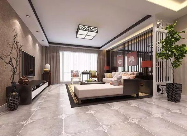 中式客厅的吊顶,怎么装修应景?图片
