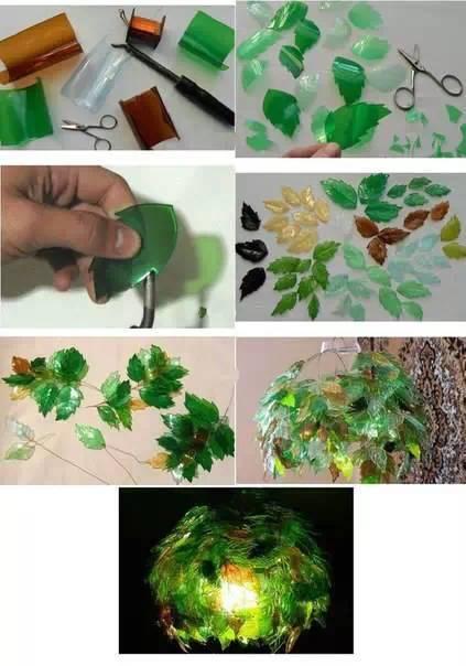 废旧塑料瓶手工制作的艺术