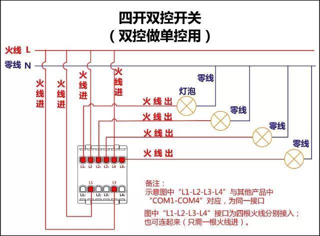 中国工控|17类开关接线图,直接拿走!