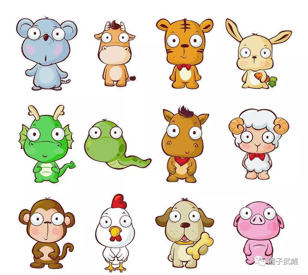 生肖的排序,民间有各种各样的传法,比如当年轩辕黄帝要选十二动物担任图片