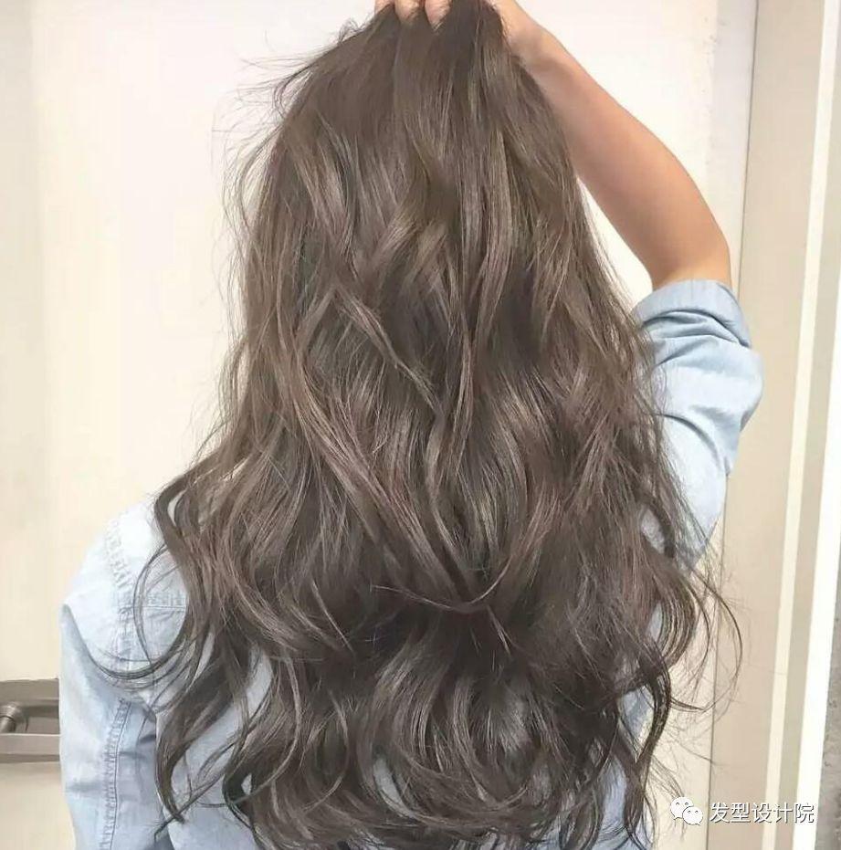 好看又容易打理的中长发发型图片