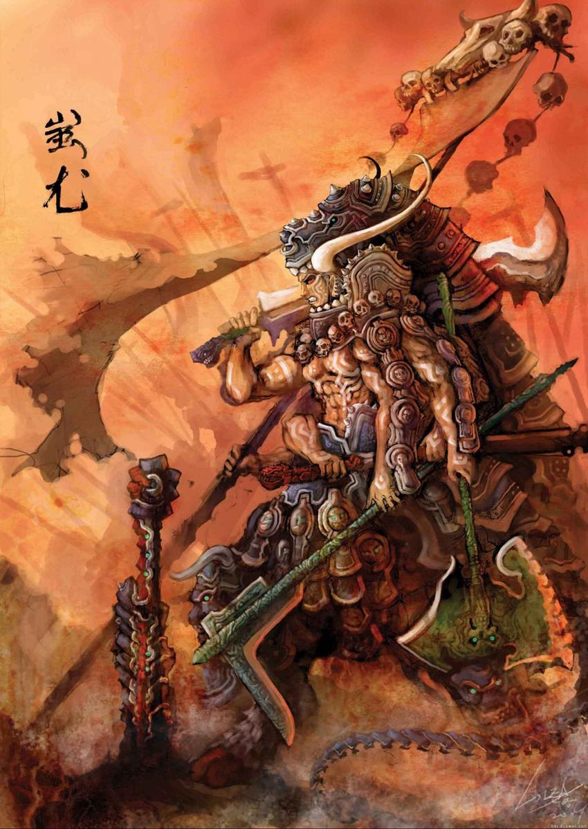 中国四大兵器之祖 弓祖 刀祖 剑祖,最早一件兵器与宇宙同生