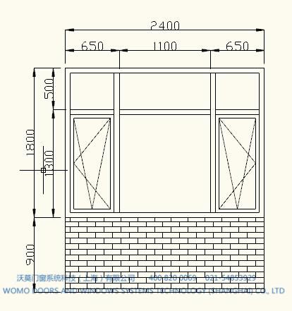 门窗设计图纸