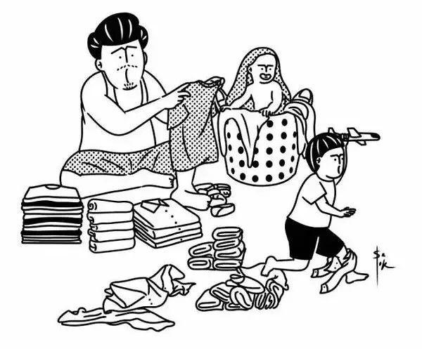 亲爹带娃的苦逼日常,我也是第一次当爸爸,孩子请你图片