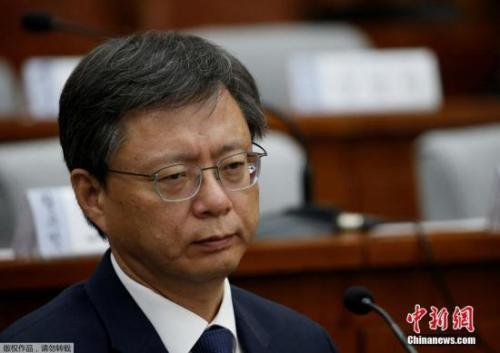 韩青瓦台前首秘禹柄宇一审被判有期徒刑2年6个月
