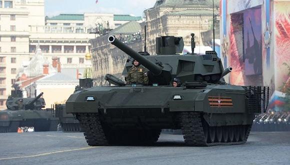 """俄将塔曼师改为装甲部队""""未来之师"""" 首先换装阿玛塔"""