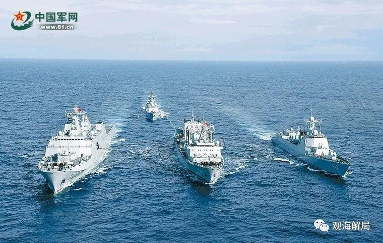 海軍編隊春節赴印度洋,都干了啥?
