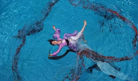 蛙泳出发,转身后的长划臂技术