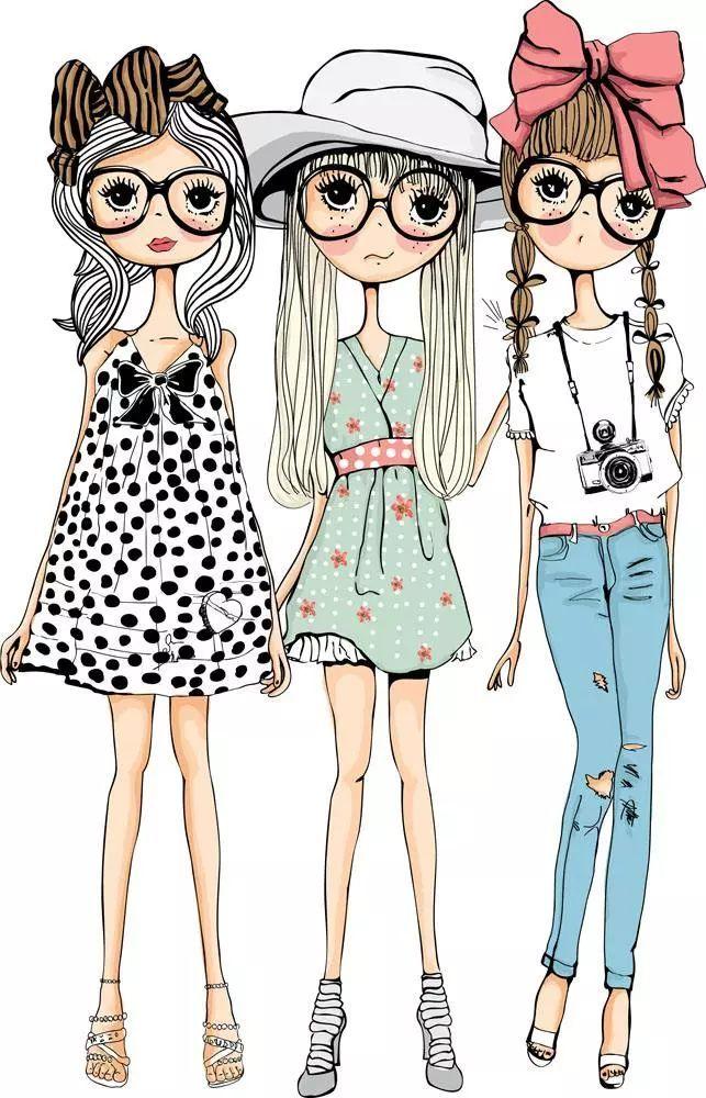 少女衣服设计图片