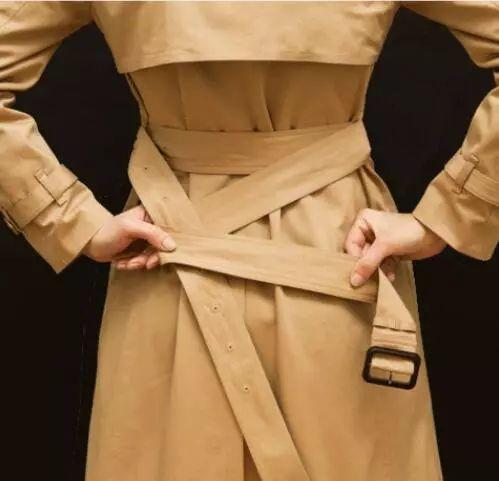 风衣的腰带怎么系_风衣后面的腰带怎么系