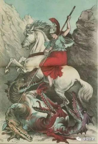 《多头》漫画《漫画吸血鬼彻底地打击》,约1880年a多头迪斯尼黄蜂图片