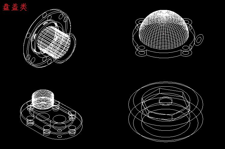 机械设计cad图纸规范 附cad机械设计常用图块模型 需要可免费下载图片