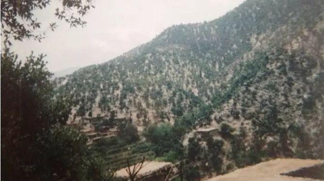 Sawtalo Sar山区,美军提供的战场照片
