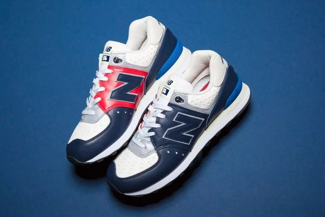 《mita sneakers x WHIZ LIMITED x New Balance 574 三方联名》