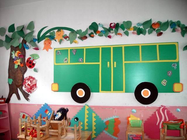 环创篇 幼儿园环创这样做,小朋友们得有多喜欢啊图片