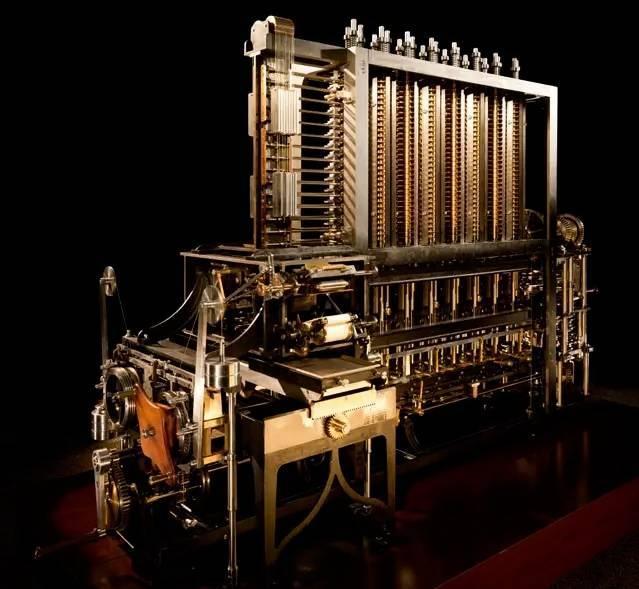 机械史上最复杂的巅峰之作:差分机这才是最强大脑