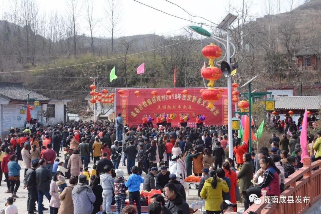 新春走基层 | 沙坝镇杨坝村:野马河畔歌声飞 欢天喜地闹新春
