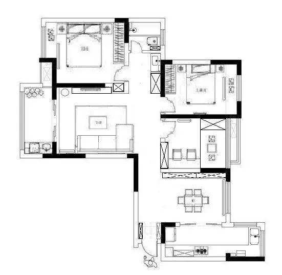装修界学霸分享:定制家具手绘图纸