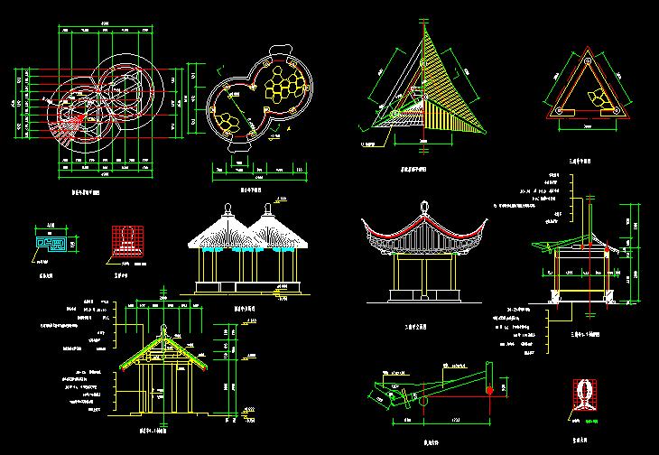 以下是部分图纸预览.资源可在迅捷cad图库下载http://www.xunjiecad.