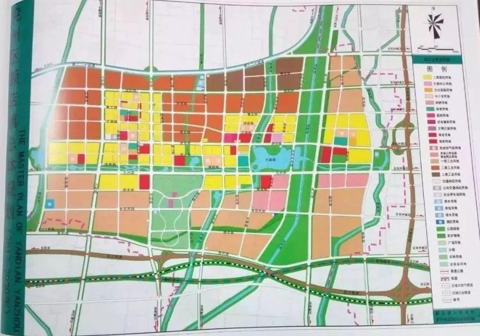 颜店工业新城规划图