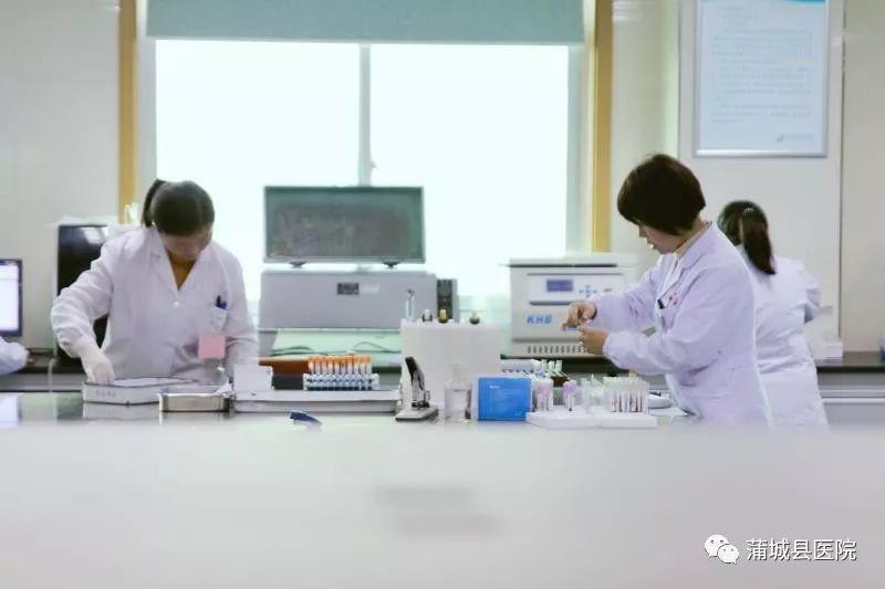 检验战线的一支尖兵 蒲城县医院检验科工作扫描