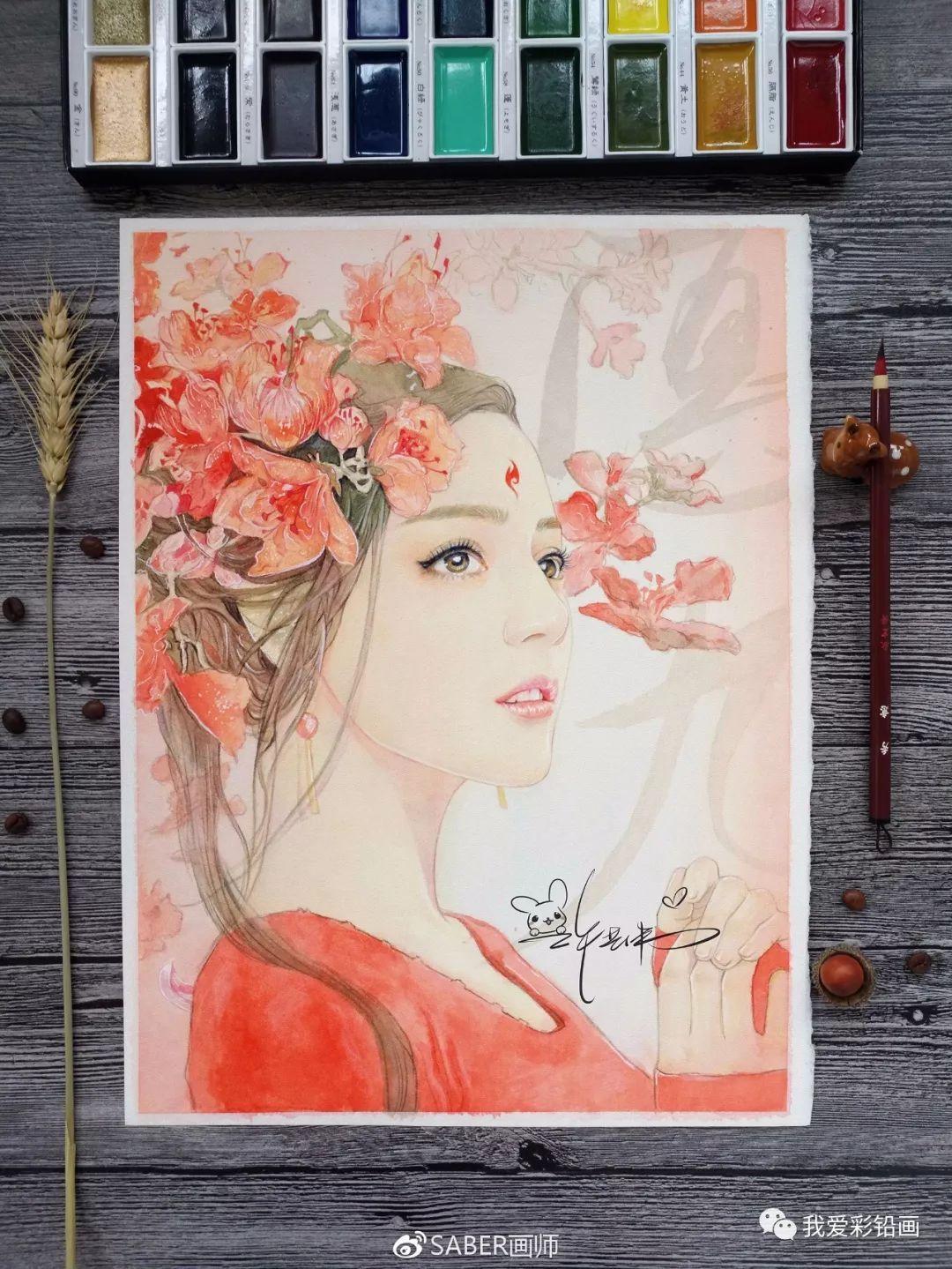《三生三世十里桃花——凤九》手绘教程
